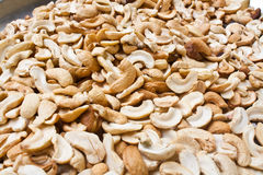 Dry Roasted Salted Cashews Nut Royalty Free Stock Photo