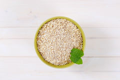 Dry rolled oatmeal Royalty Free Stock Image