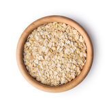 Dry rolled oatmeal. Stock Photography