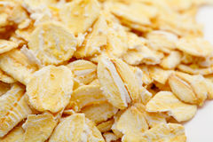 Dry rolled oats Royalty Free Stock Images