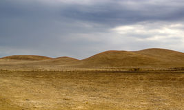 Dry rolling hills Stock Image