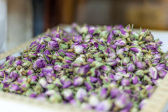 Dry rose buds in Souq Waqif, Doha Stock Image