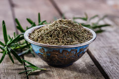 Dry rosemary spice Royalty Free Stock Photos
