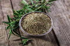 Dry rosemary spice Stock Photos