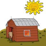Dry Rural Scene Royalty Free Stock Photo