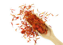 Dry Safflower as spice Royalty Free Stock Image