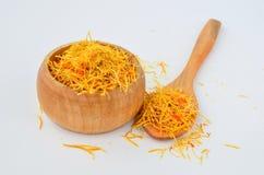 Dry Saffron Royalty Free Stock Photo