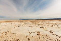 Dry salinas Stock Image