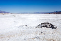 Dry Salt Pan in Death Valley Stock Image