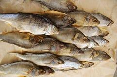 Dry salty fish Stock Photos