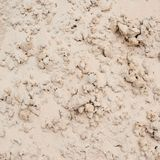 Dry sand soil fragment Royalty Free Stock Images