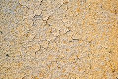Dry sand. Texture, close view Royalty Free Stock Image