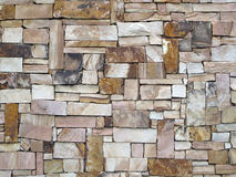 Dry Sandstone Wall. Royalty Free Stock Photo