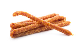 Dry sausage Royalty Free Stock Images