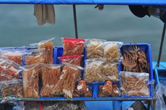 Dry sea food Royalty Free Stock Image