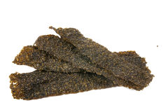Dry seaweed Royalty Free Stock Images