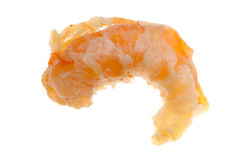 Dry shrimp isolated Royalty Free Stock Images