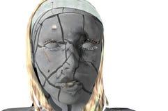 Dry skin vector illustration
