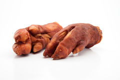 Dry smoked pork trotters Royalty Free Stock Photography