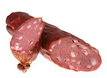 Dry smoked sausage Stock Image