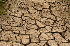 Dry soil. Of a sicilian country Stock Image