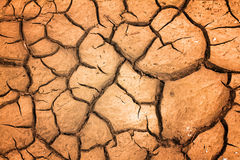 Dry soil. In arid areas royalty free stock image