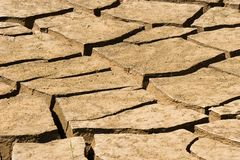 Dry soil. Background abstract: dry soil in summer royalty free stock image