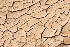 Dry soil. Background abstract: dry soil in summer royalty free stock photo
