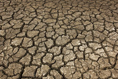 Dry soil Arid. At country Stock Images