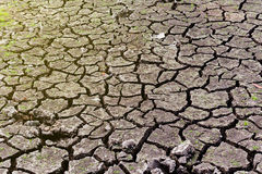Dry soil Arid. Drought land Stock Image
