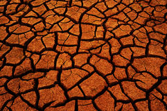 Dry soil background Royalty Free Stock Images