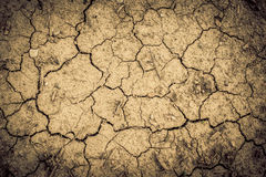 Dry soil. Background - dryness concept Stock Photos