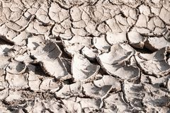 Dry soil caused by crisis drought drought background royalty free stock photography
