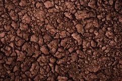 Dry soil closeup before rain Stock Images