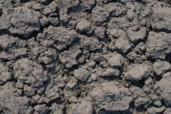 Dry soil closeup Stock Photography