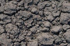 Dry soil closeup Stock Photography