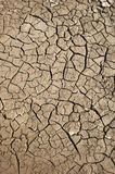 Dry soil  with crack Royalty Free Stock Photo
