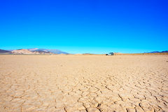 Dry soil in Death Valley Royalty Free Stock Photos