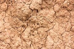 Dry soil. Royalty Free Stock Photos
