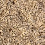 Dry soil and Sand Stock Photography