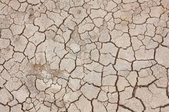 Dry soil texture Royalty Free Stock Image