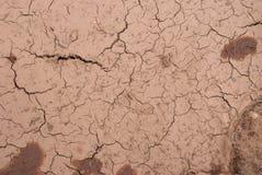 Dry soil texture background Stock Photos