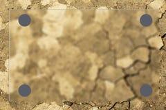 Dry soil Stock Image