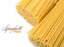 Dry spaghetti Stock Photography