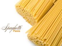 Dry spaghetti Stock Photography