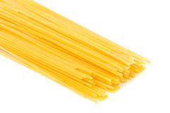 Dry spaghetti Royalty Free Stock Photo