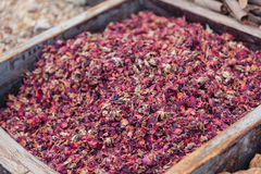 Dry Spice At The Spice Souk Of Deira. Dubai, UAE Royalty Free Stock Images