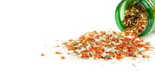 Dry spices background Royalty Free Stock Image