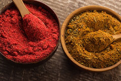 Dry spices Royalty Free Stock Images