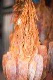 Dry squid Stock Photo